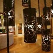 Mooie zwarte lampen